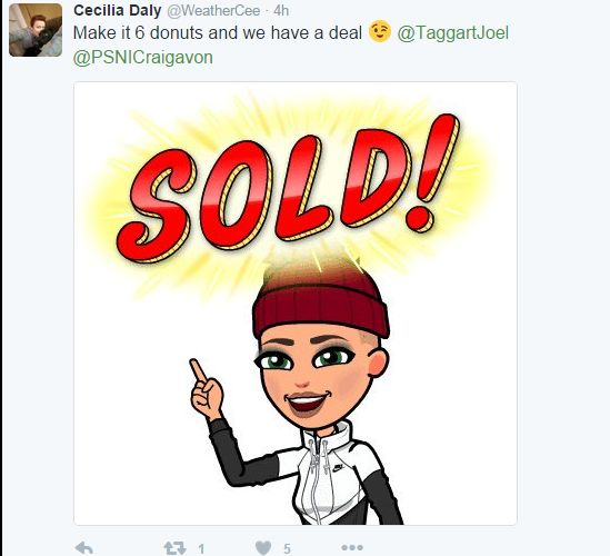 Cecilia Daly tweet