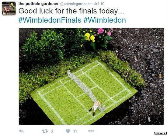 Good luck for the finals today #Wimbledon