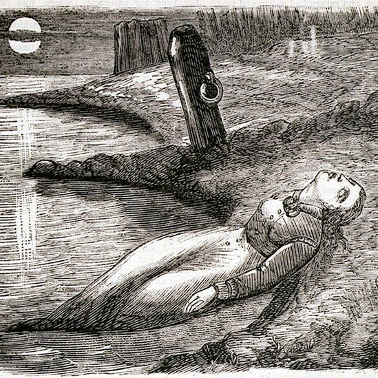 Illustration of one of the dead