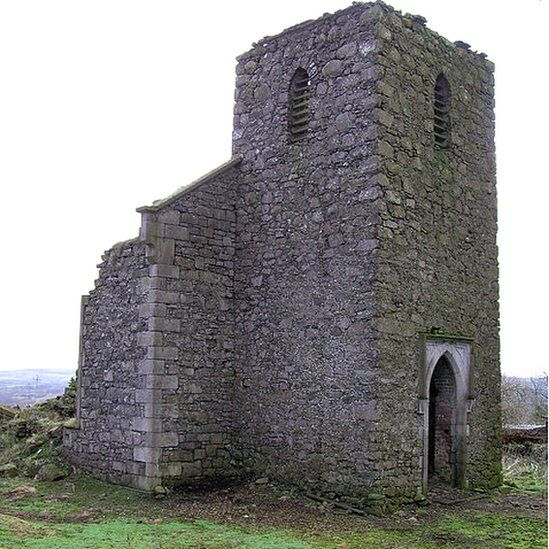 Ballyeaston Church ruin