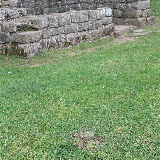 Damage at Hadrian's Wall