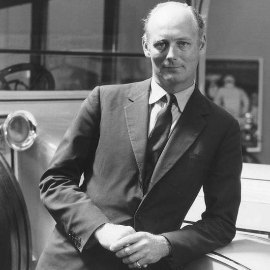 Lord Montagu photographed in 1964