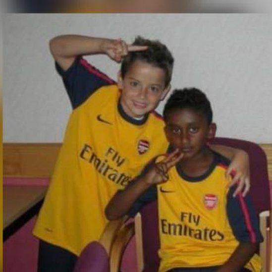 Leon Haque and Tashan Daniel