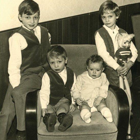 (L-R) Wim, Gerard, Astrid and Sonja