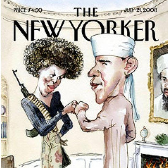 New Yorker cover from 2008