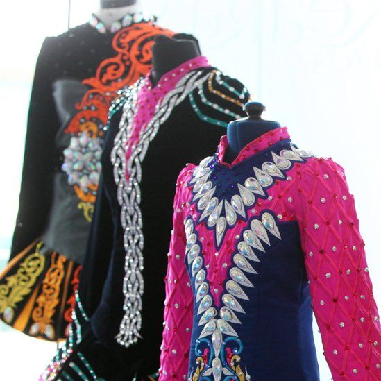 Irish dance costumes
