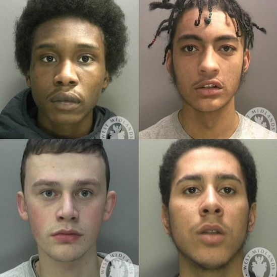 Clockwise from top left: Joshua Campbell, Dontay Ellis, James Peake and Michael Cunningham