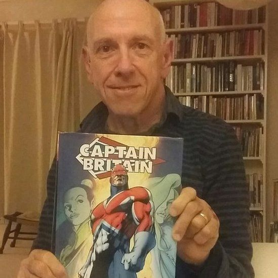 """""""I wrote Captain Britain and edited many of the British editions."""" David Thorpe worked for Marvel"""