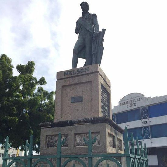 Lord Nelson statue, Bridgetown