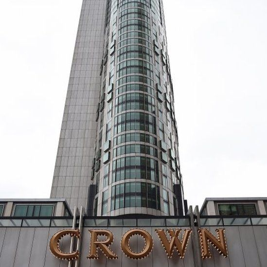 The Crown casino in Melbourne (26 July 2016)