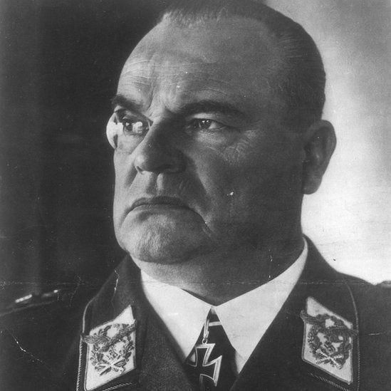 Nazi general Hugo Sperrle