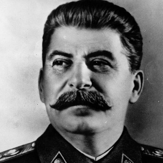 close up of Stalin in 1935