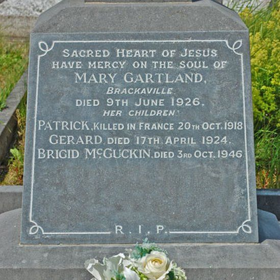 Patrick Gartland gravestone