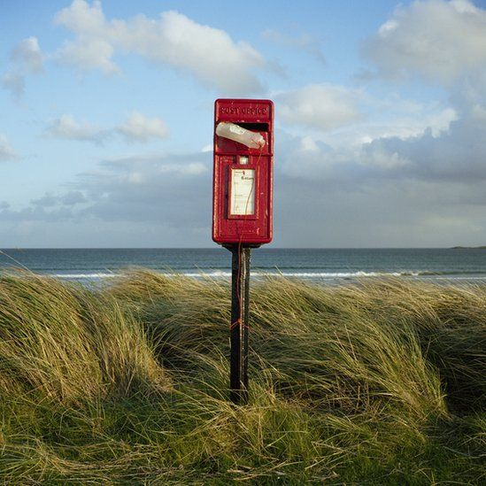 Postbox on Tiree