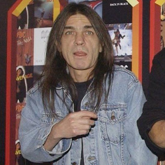 Malcolm Young in March 2003