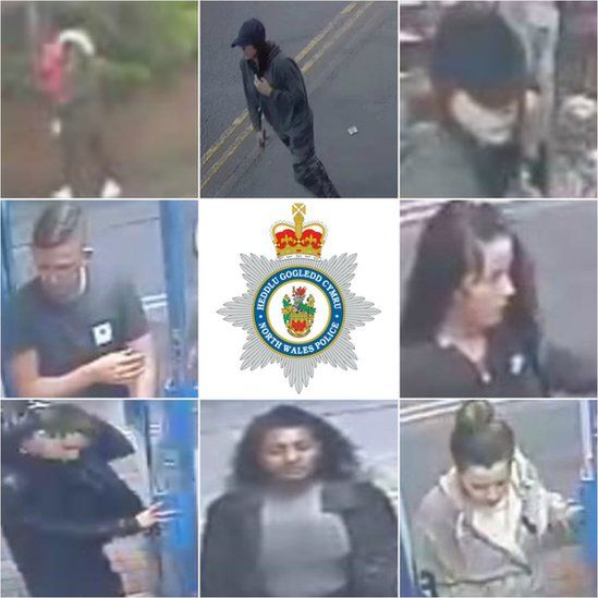 CCTV images of people police want to speak with