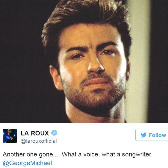 La Roux's tweet