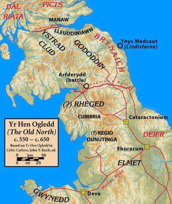 Map o'r Hen Ogledd