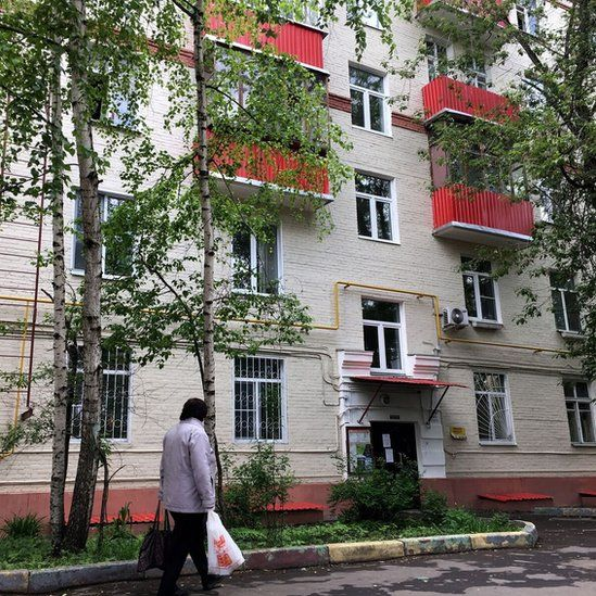 Moscow apartment block