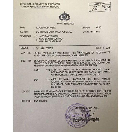 Polri Copot Jabatan Polisi Yang Tendang Perempuan Di Pangkal