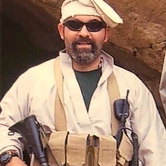 Marc Polymeropoulos in Afghanistan