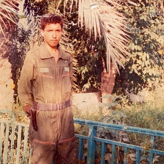 Raid al-Mosawi was serving as an Iraqi policeman in Basra when he was shot dead.