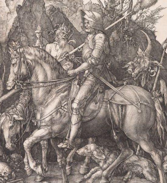 Albrecht Durer: Knight, Death and Devil