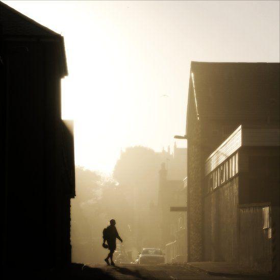 Mist in Stonehaven