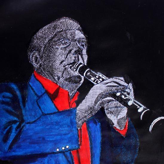 Wyn Lodwic - Rhapsody in Blue gan Meic Stevens
