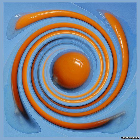 Swirled egg