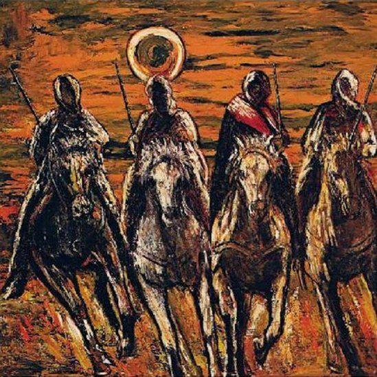 Cavaleiros Arabes depois da Tempestrade 1981-1983