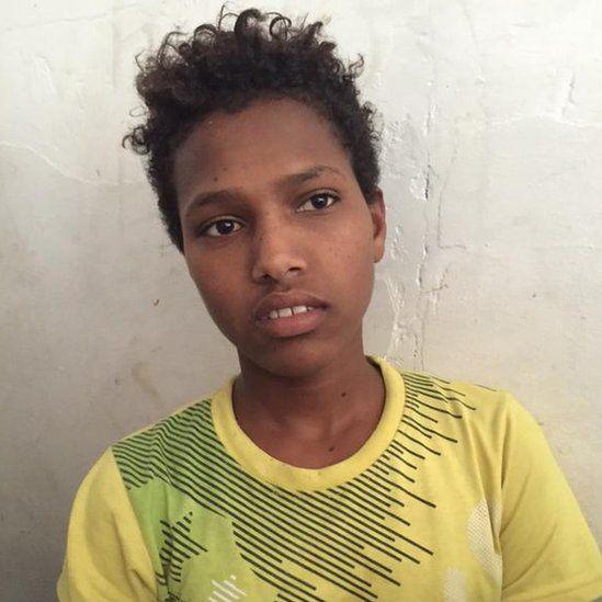 A 14-year-old boy