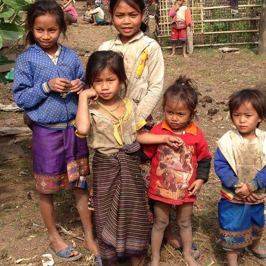 Children in the So village