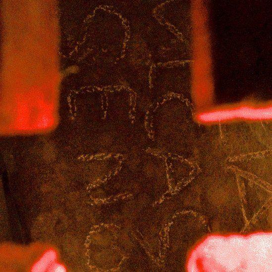 Croes Rufeinig yn Eglwys Llanfihangel-ar-arth