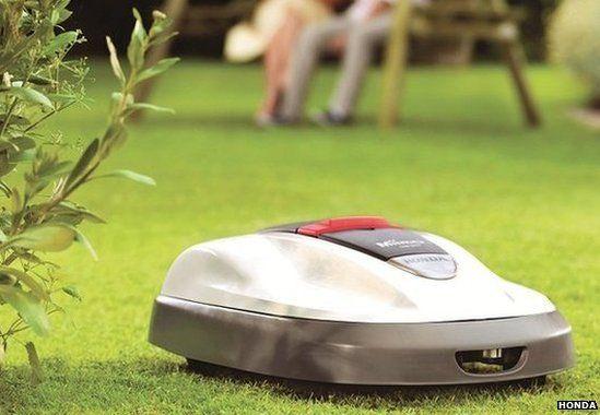Honda Miimo robot lawnmower