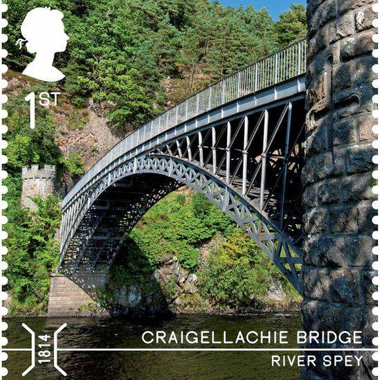 Craigellachie Bridge stamp