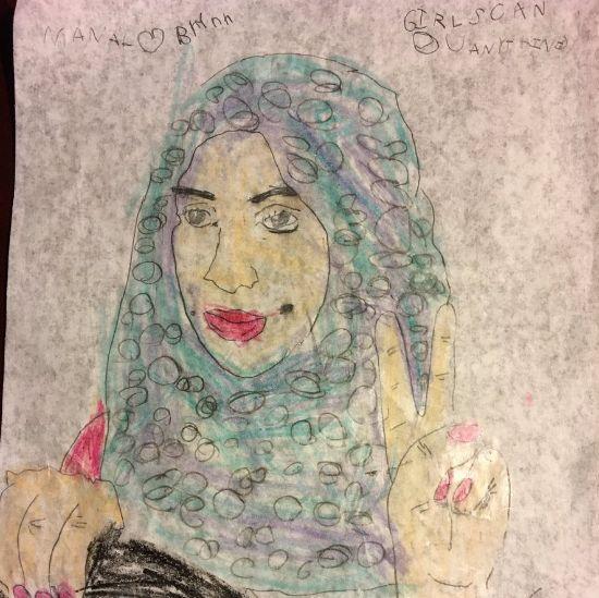 Brynn Maddox's picture of Manal al-Sharif