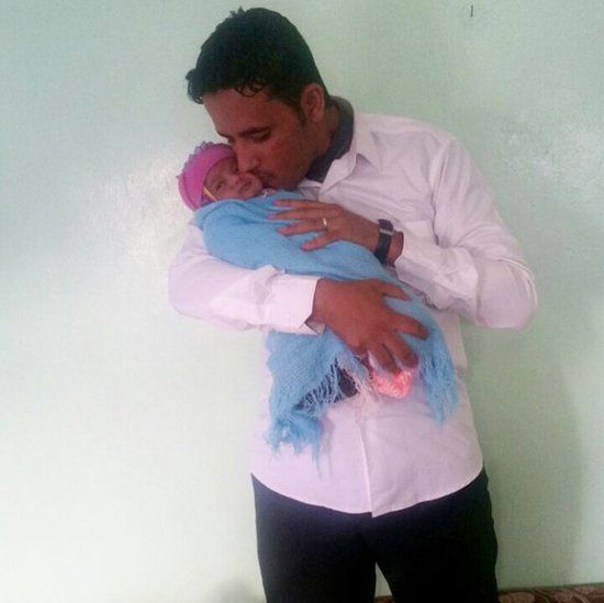 Son Ayman and Grandson Ismail