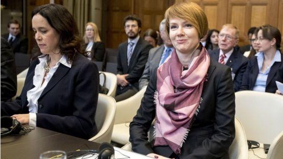 Ukrainian deputy Foreign Minister Olena Zerkal