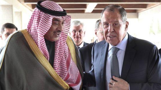 Лавров и эмир Кувейта