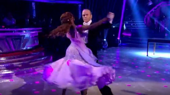Jonnie Peacock on Strictly Come Dancing