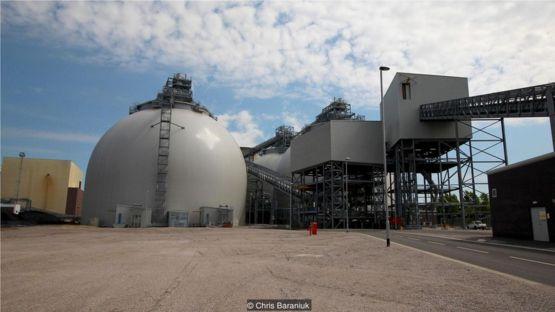 德拉克斯發電廠從煤炭到生物燃料的轉換,耗資7億英鎊。