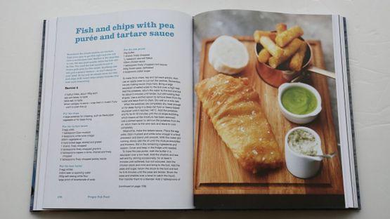 Receta de fish&chips