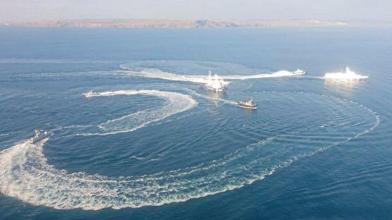 Инцидент у Керченского пролива