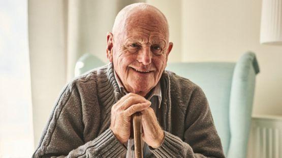 un hombre viejo