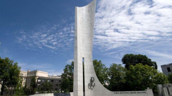 Памятник Польскому подпольному государству и Армии Крайовой в Варшаве