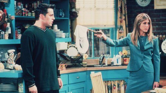 Joey y Rachel