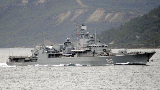Флагман ВМС Украины - фрегат