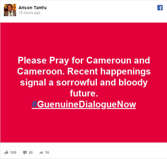 Cameroon Anglophone crisis, security dey find director for
