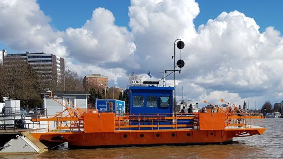 Finland's oldest operating ferry given electric motor
